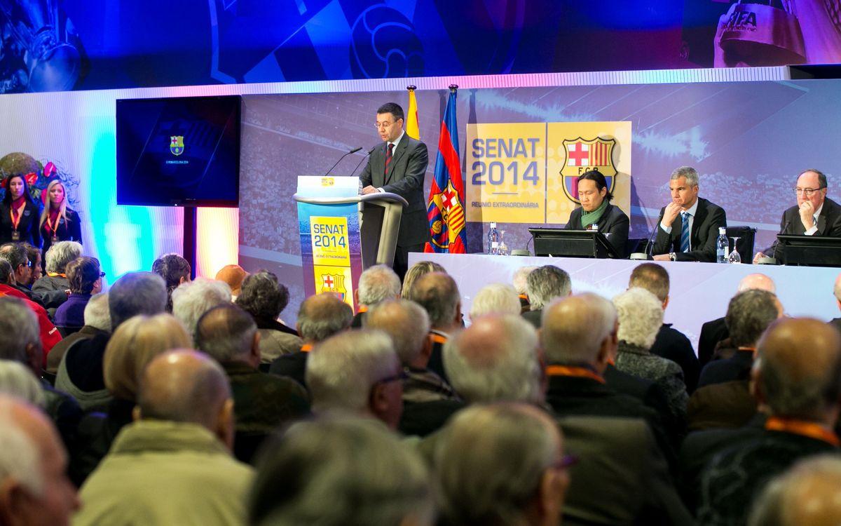 Els senadors, els primers en conèixer els detalls de la proposta del nou Espai Barça