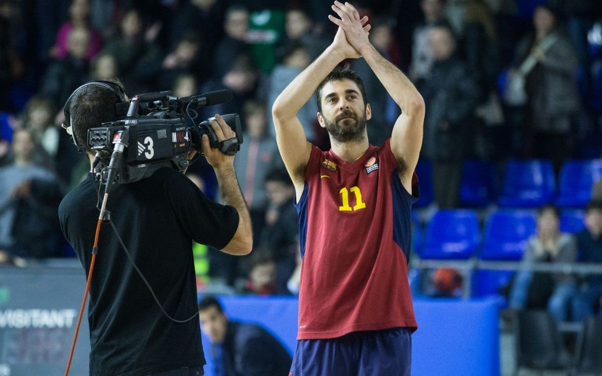One day with Juan Carlos Navarro