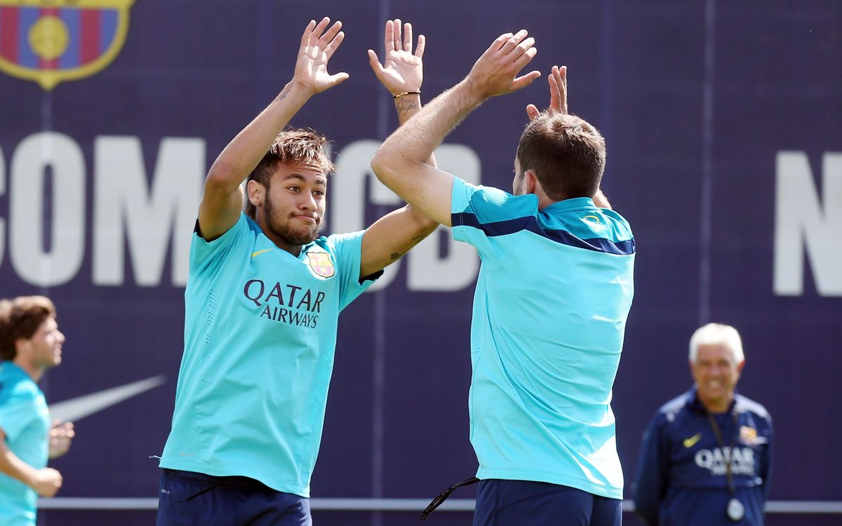 Neymar, Piqué and Alba named in squad