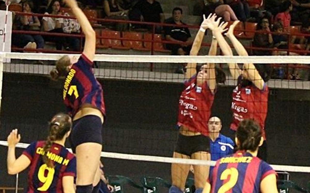 Torna el voleibol europeu de la mà del CVB-Barça