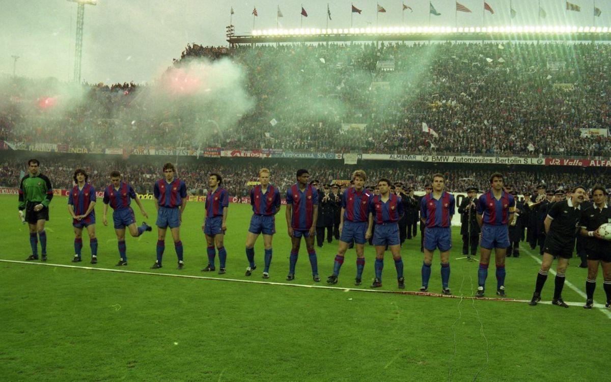 Eusebio i la Copa del Rei del 1990