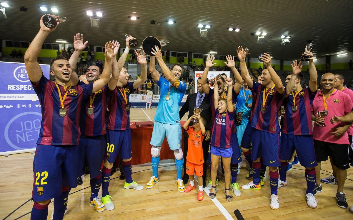 FC Barcelona – Marfil Santa Coloma: Campions de la Copa Catalunya! (6-4)