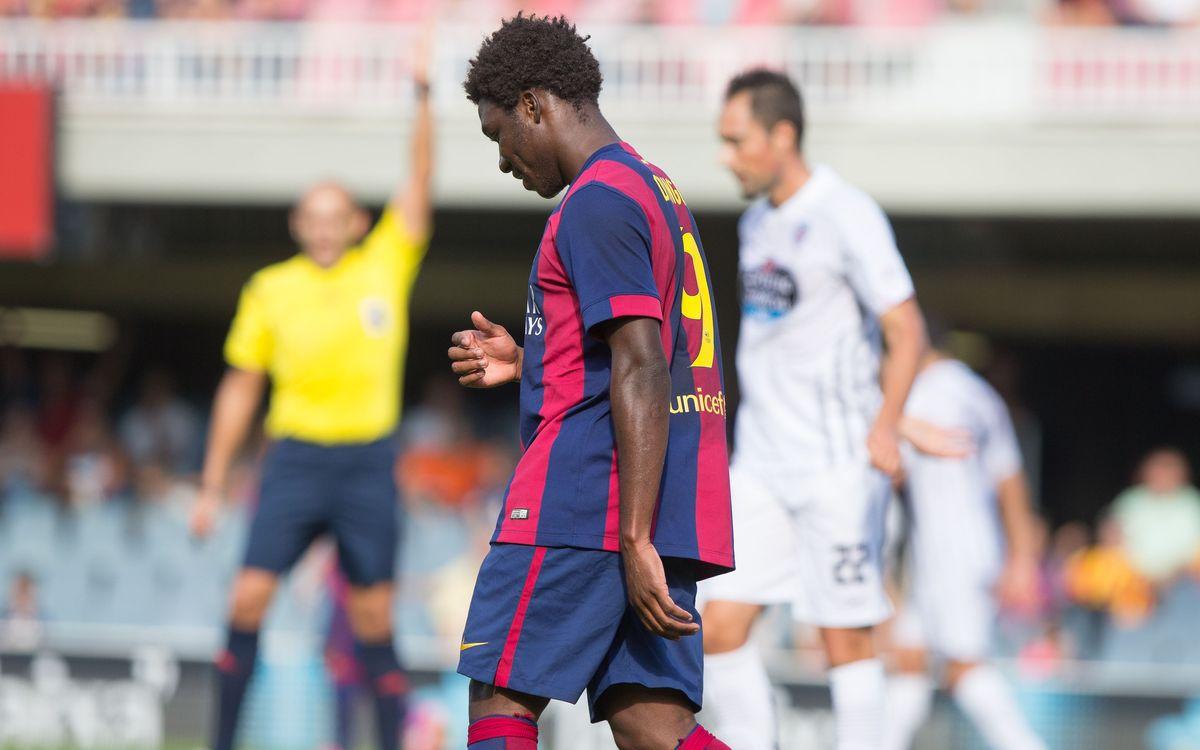 Barça B v CD Lugo: Undeserved defeat (0-1)