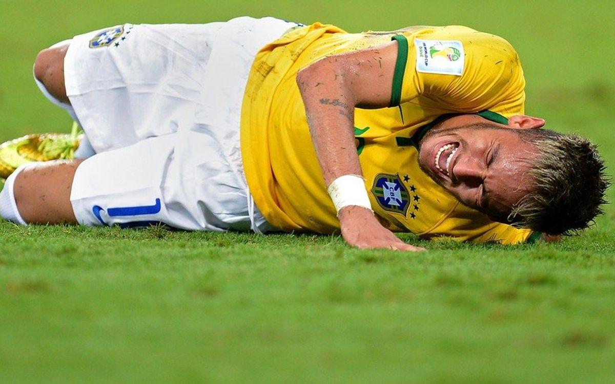 """L'evolució de la lesió de Neymar """"és molt bona"""""""