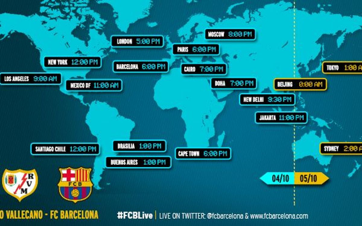 When and where to watch the Spanish League match between Rayo Vallecano and FC Barcelona