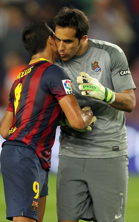 FC Barcelona's second Chilean and sixth South American keeper