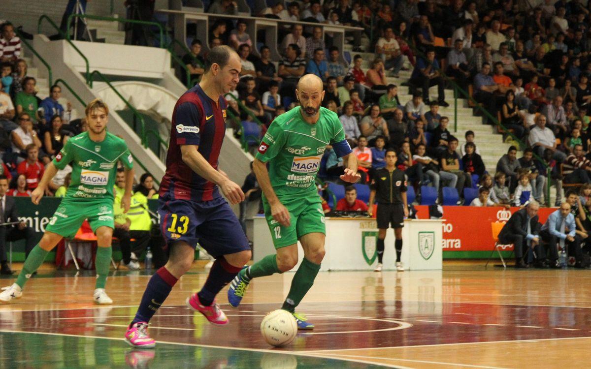 Magna Navarra v FC Barcelona: Three valuable points (2-6)