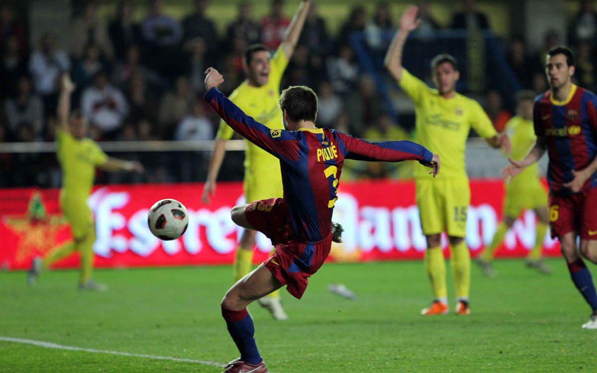 Los 10 últimos goles en Villarreal