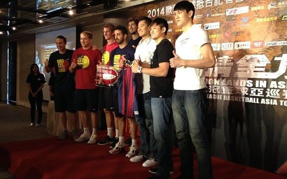FC Barcelona doing it all on Asian tour