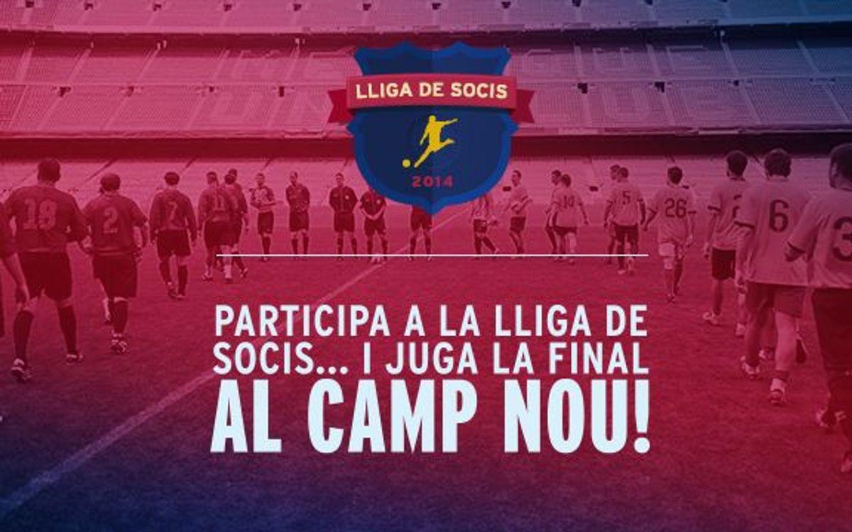 Torna la Lliga de Futbol per a socis!