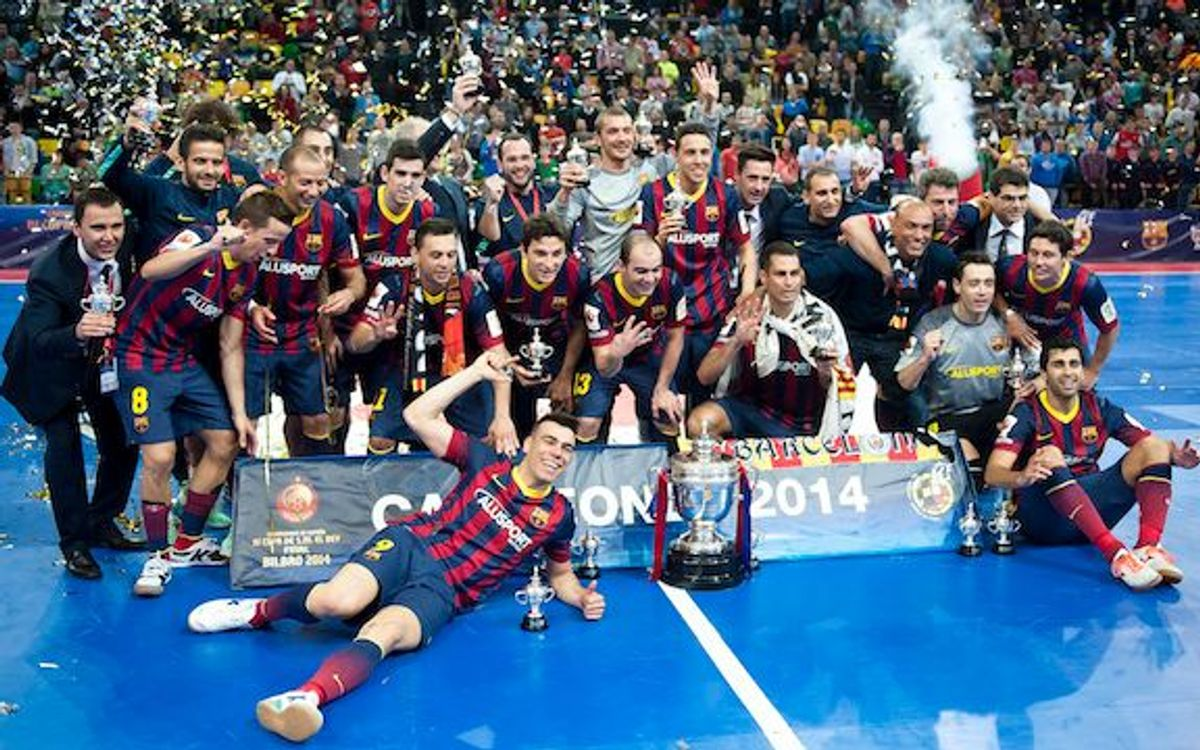 Fourth Spanish Cup for Barça Alusport