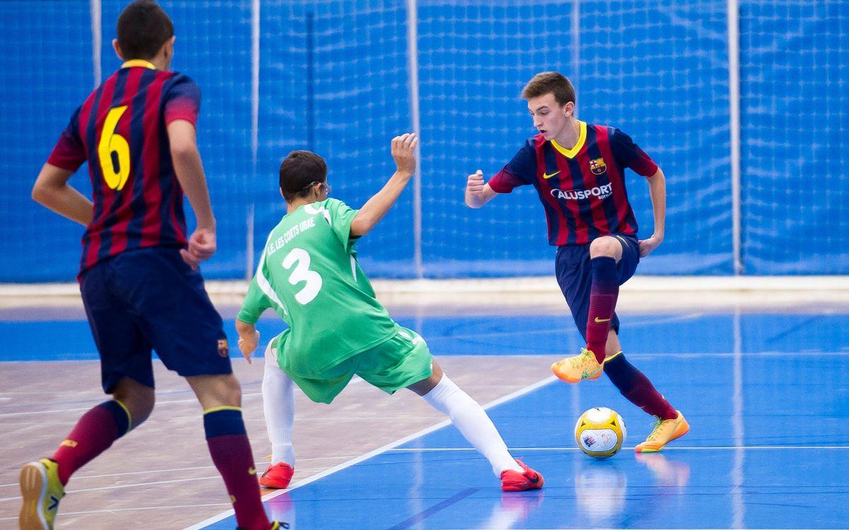 Els equips del Barça Alusport guanyen a la Lliga i a la Copa