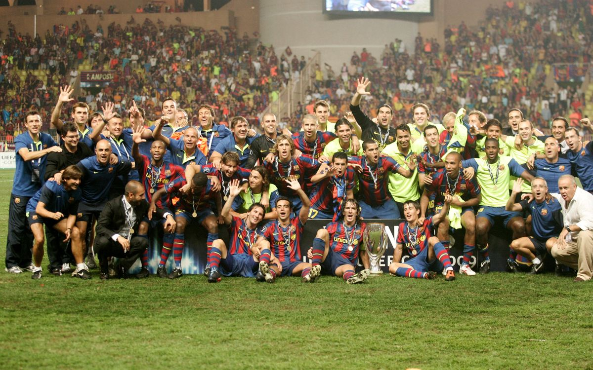 Five years on from Club's third European Super Cup