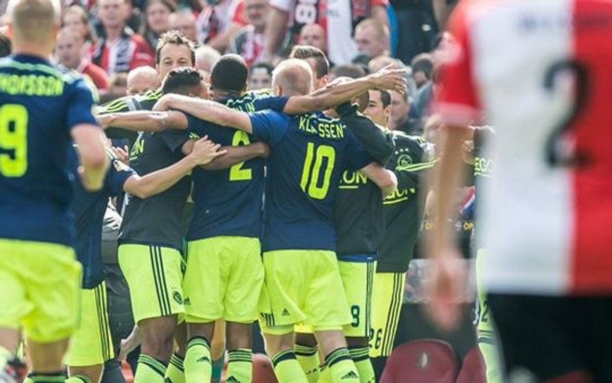 European rivals Ajax win 1-0 away