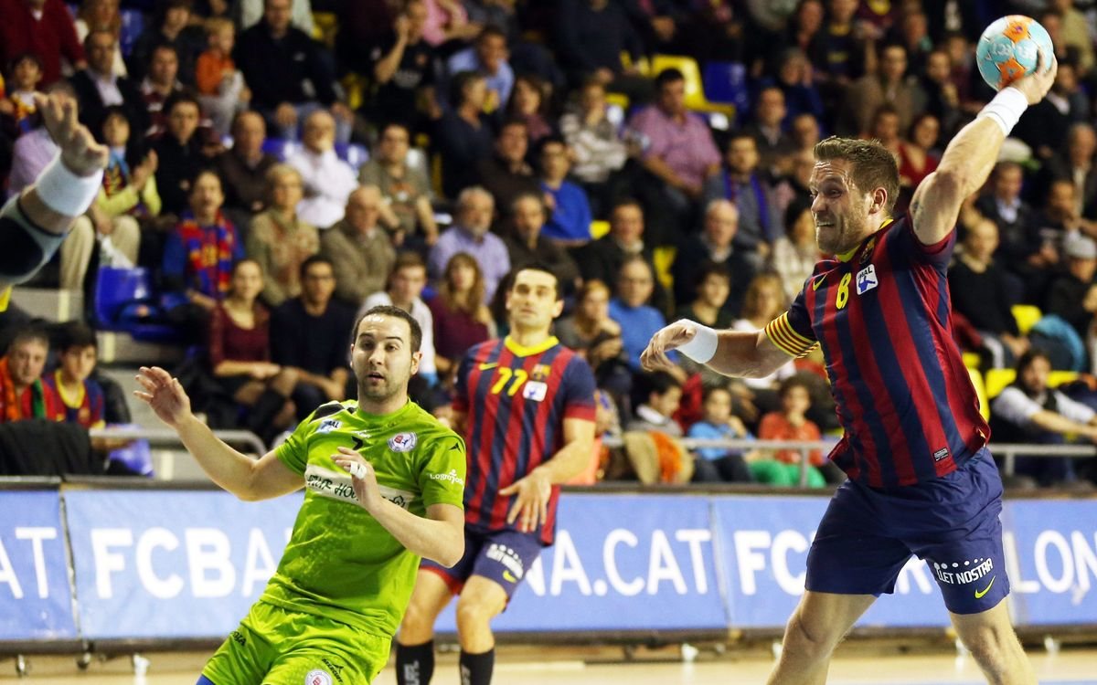 Naturhouse La Rioja – FC Barcelona: 30 out of 30 ( 26-31)