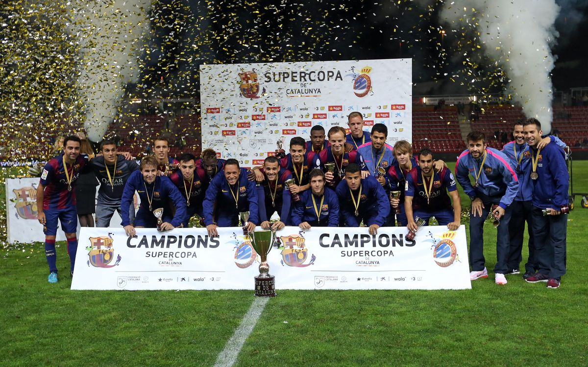FC Barcelona win Catalan Super Cup (1-1, 4-2 on pens)