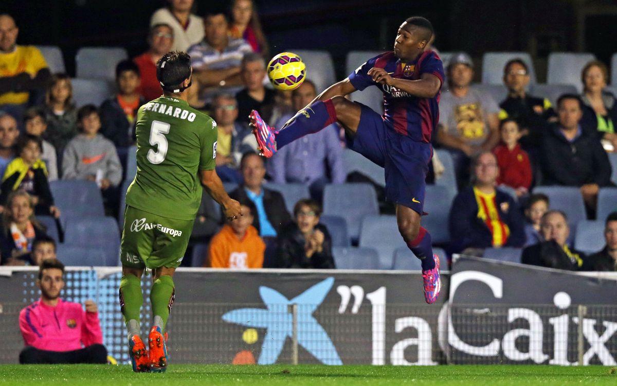 Barça B - Real Sporting: Empat sense gols al Miniestadi (0-0)
