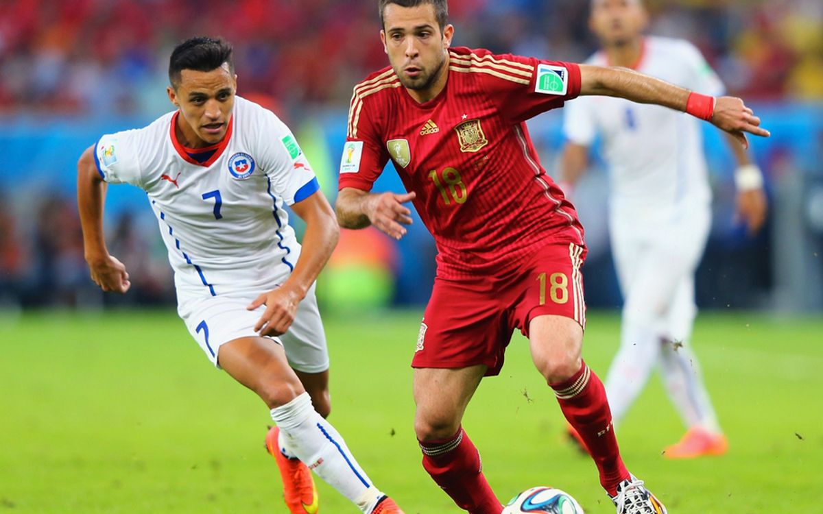 Spain are eliminated from the World Cup by Alexis' Chile (0-2)