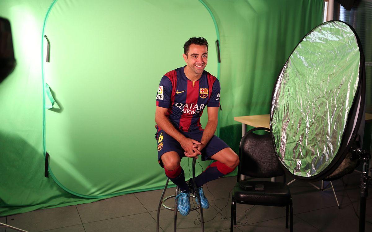 Los jugadores del Barça participan en acciones promocionales