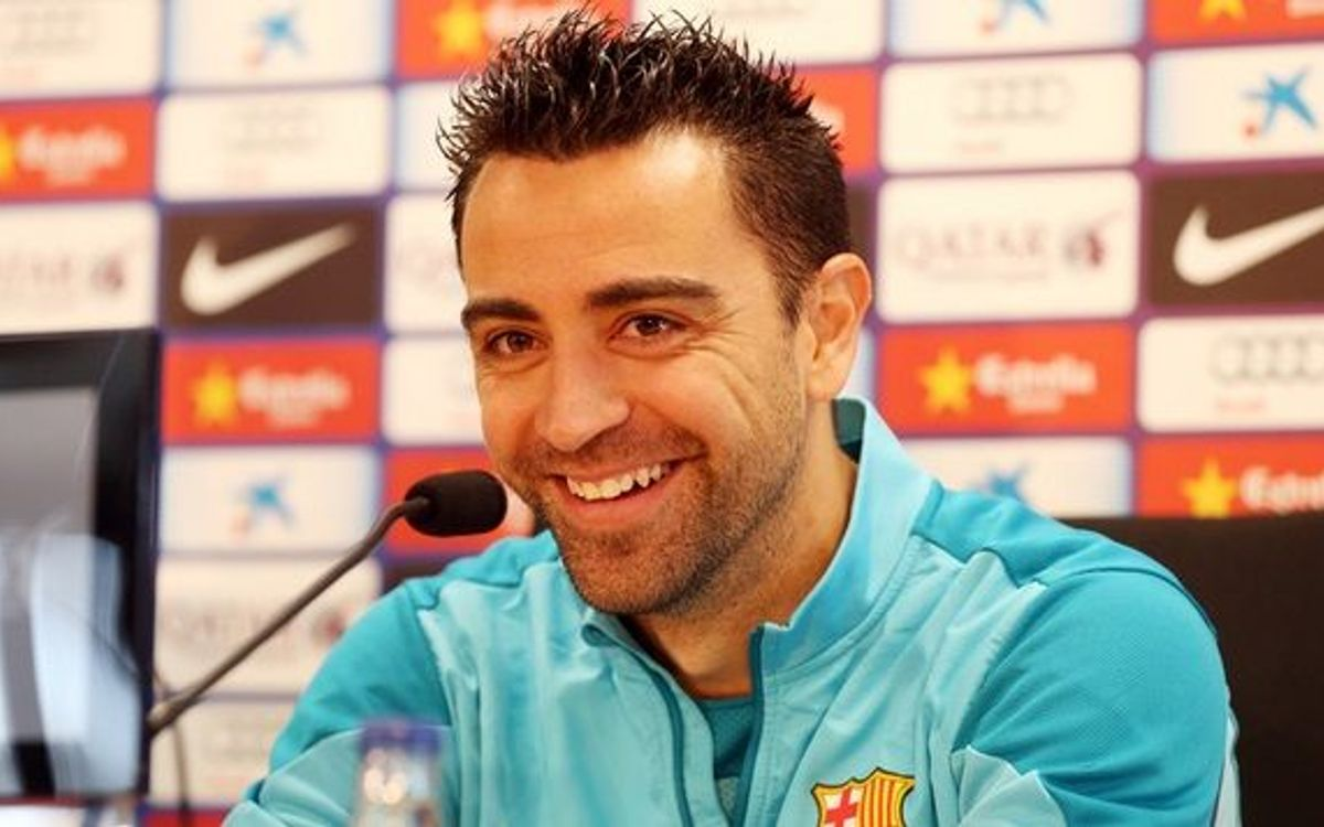 Xavi Hernández press conference