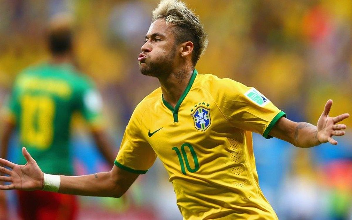 Neymar shines in Brazil's rout of Cameroon (1-4)