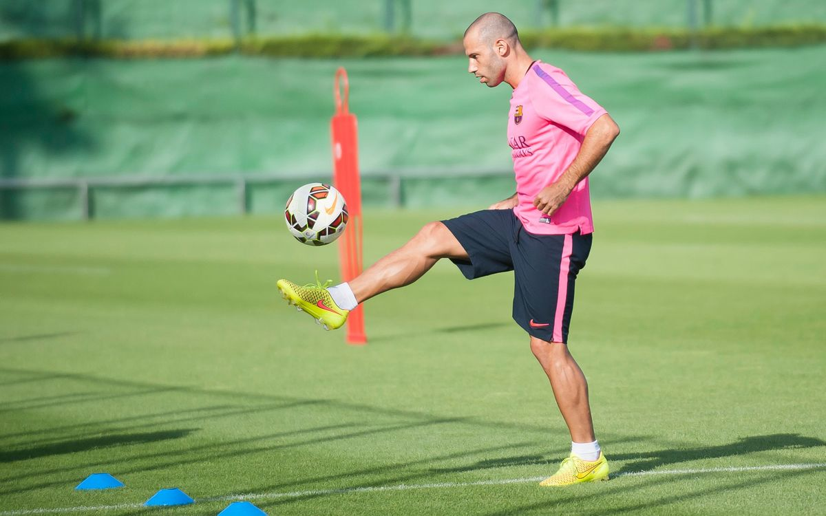Mascherano to renew contract on August 26