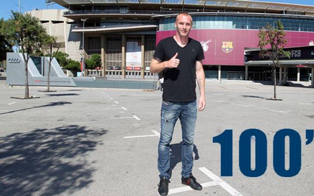 La presentación de Mathieu, en 100 segundos