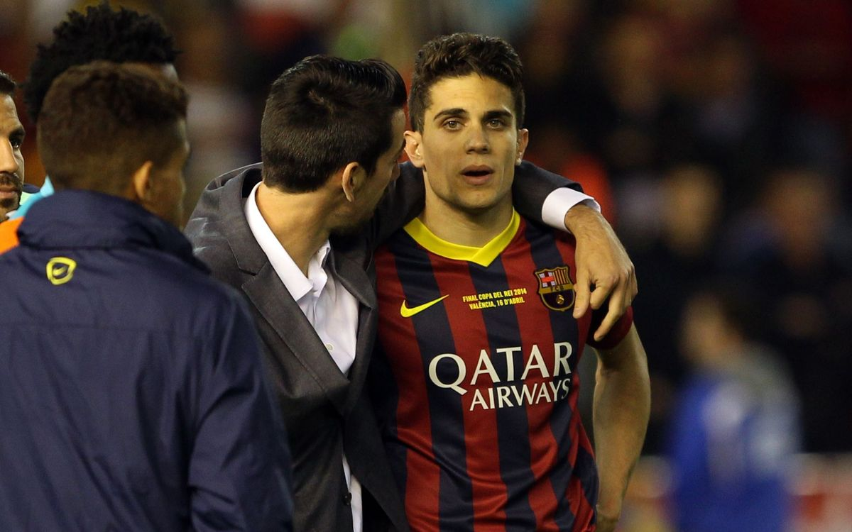 "Marc Bartra: ""This defeat saddens us because we fought until the end"""