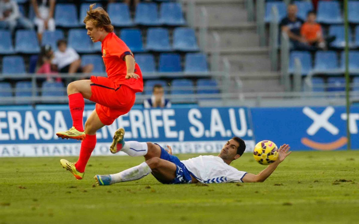 FC Barcelona B fall 2-0 in the Canary Islands