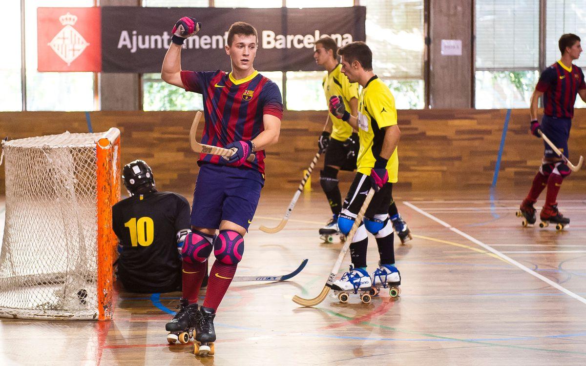 Tres equips de l'hoquei formatiu blaugrana disputaran els Campionats de Catalunya