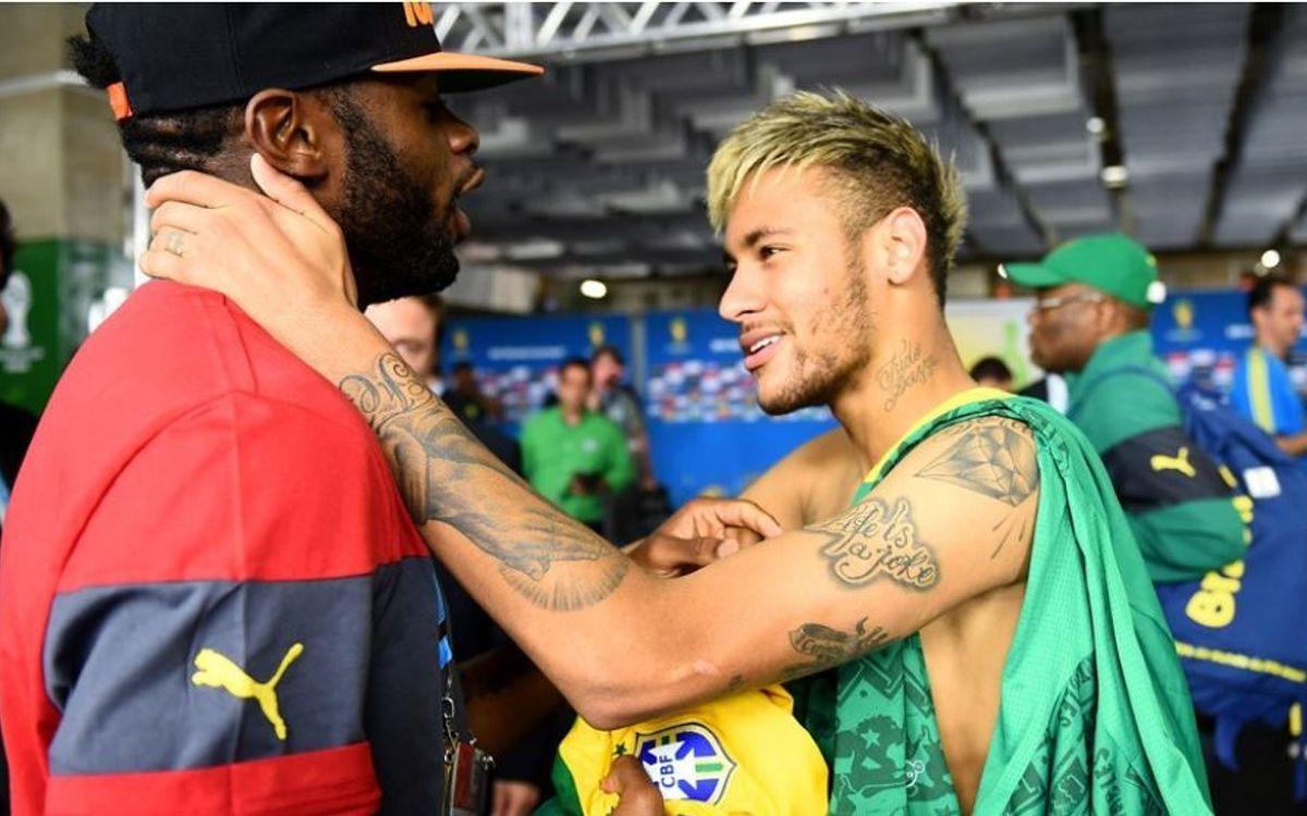 Neymar hace temblar los récords de Brasil