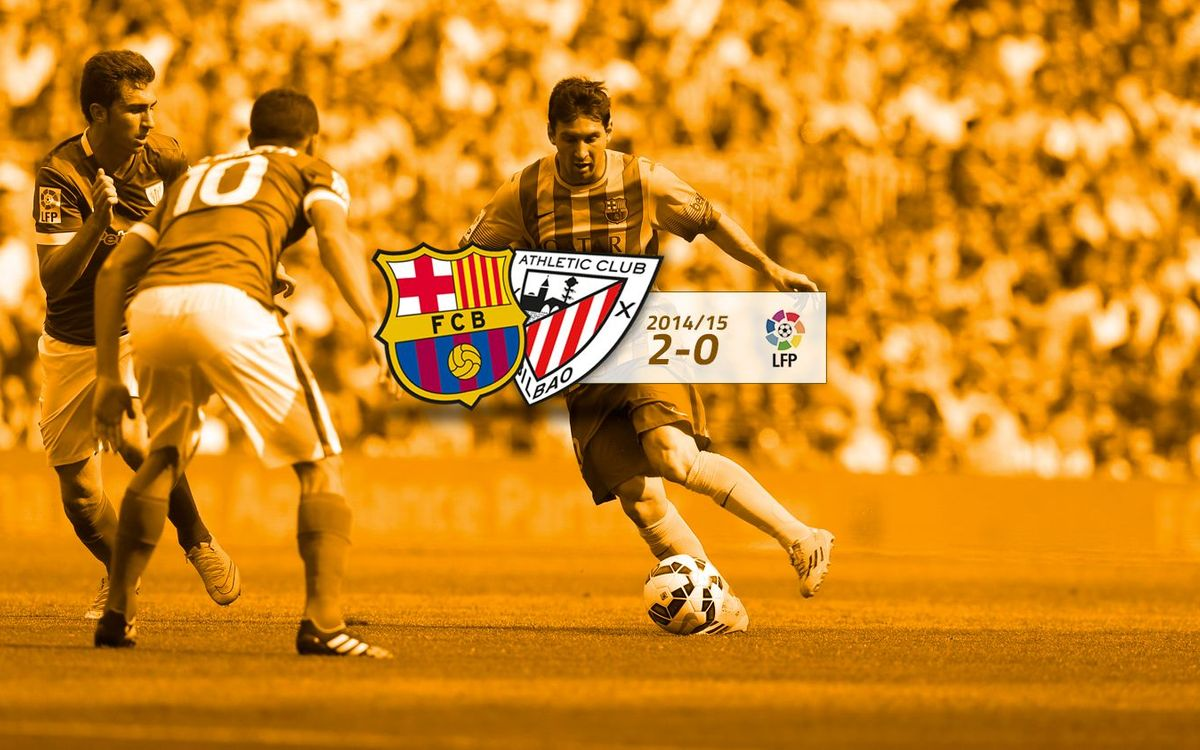 FC Barcelona: 2 - Athletic Club: 0