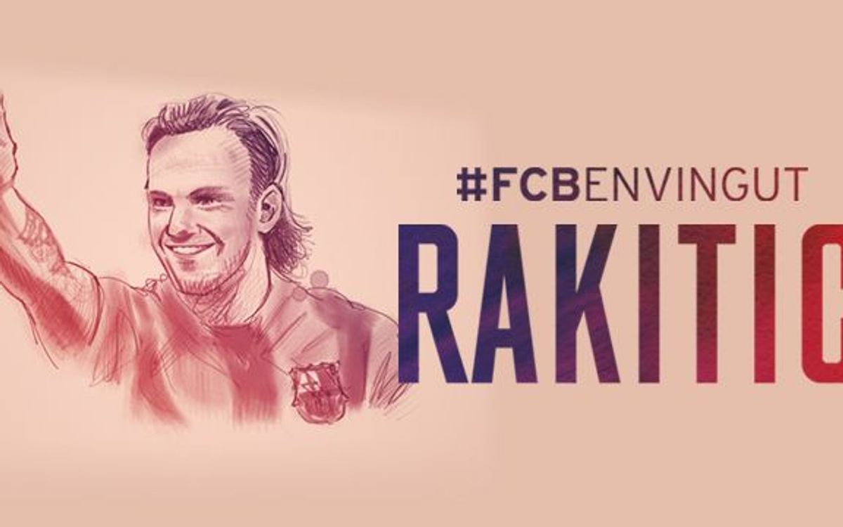 LIVE- Official presentation of Barça's new player Ivan Rakitic