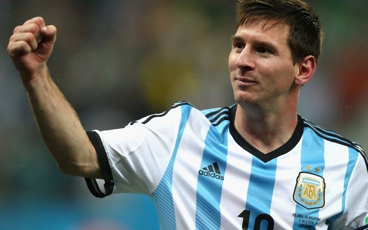 Messi overtakes Maradona in matches played for Argentina
