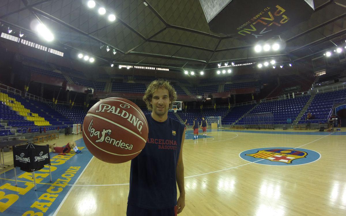 Roger Grimau s'entrenarà amb el FC Barcelona