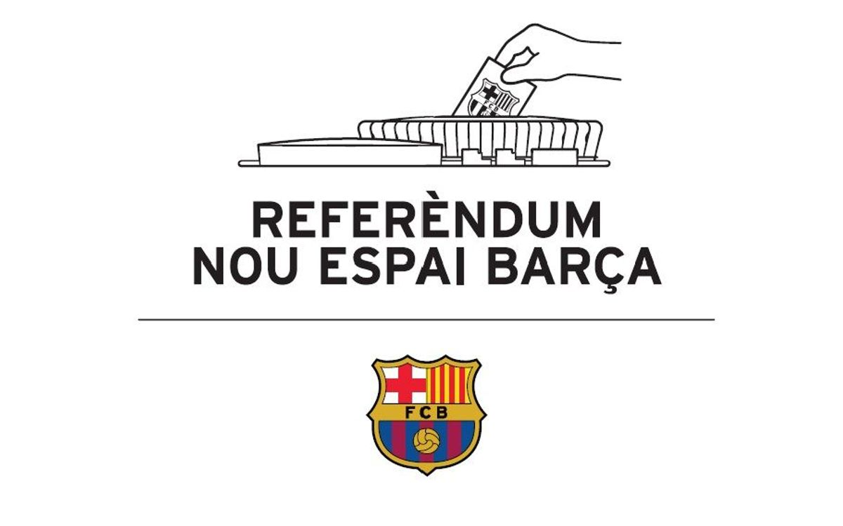 LIVE - Press conference on the assessment of the Referendum on the New Espai Barça