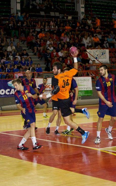 BM Torrelavega – FC Barcelona B (21-26): El filial passa de ronda a la Copa
