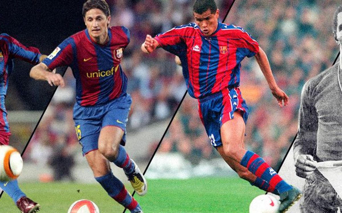 FC Barcelona players who have played for Sao Paulo