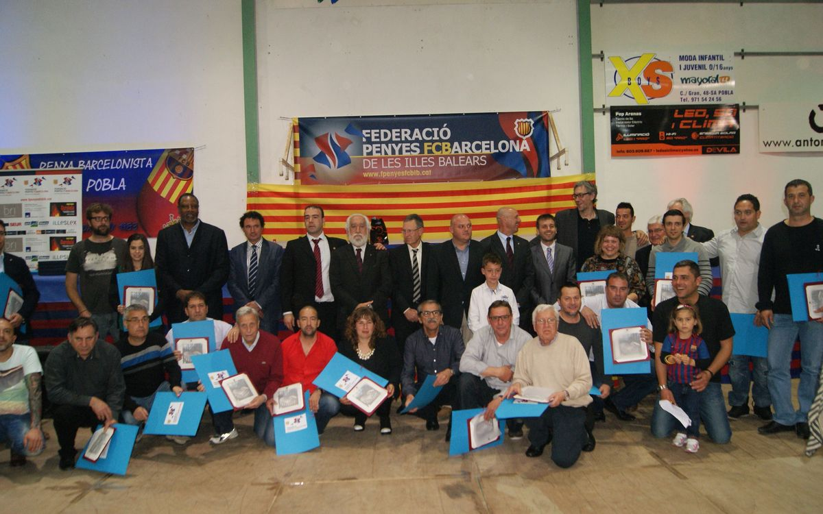 Sa Pobla hosts XI Meeting of Balearic Island Supporters Clubs