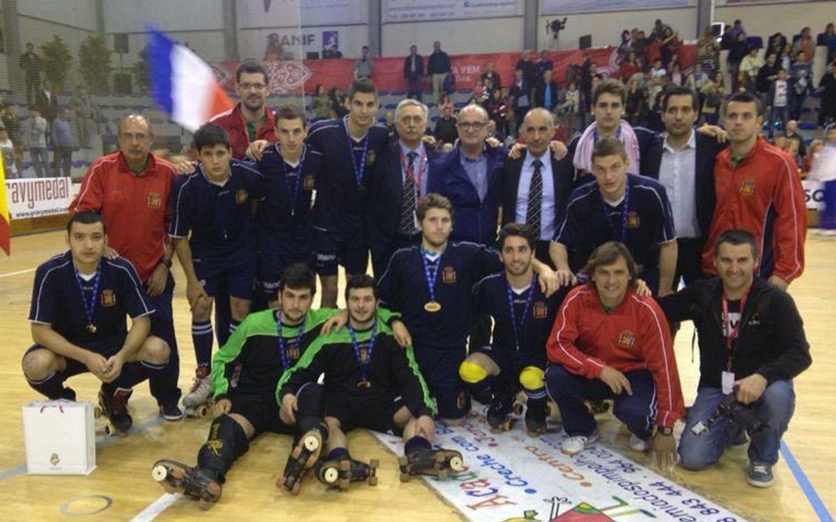 La selección española, subcampeona de la Copa Latina 2014