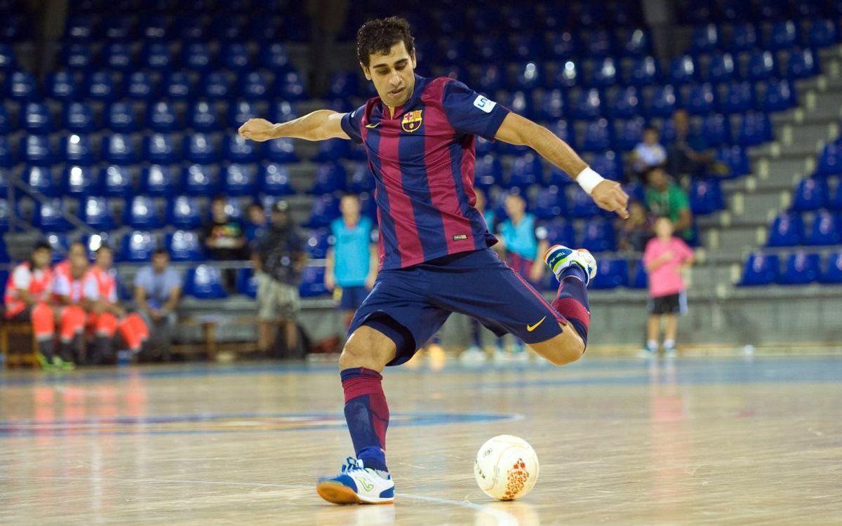 DIRECTE / FC Barcelona - Lokomotiv Karkhov (UEFA Futsal Cup)