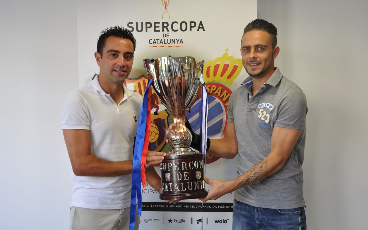 "Xavi on the Catalan Super Cup: ""It'll be an attractive game"""