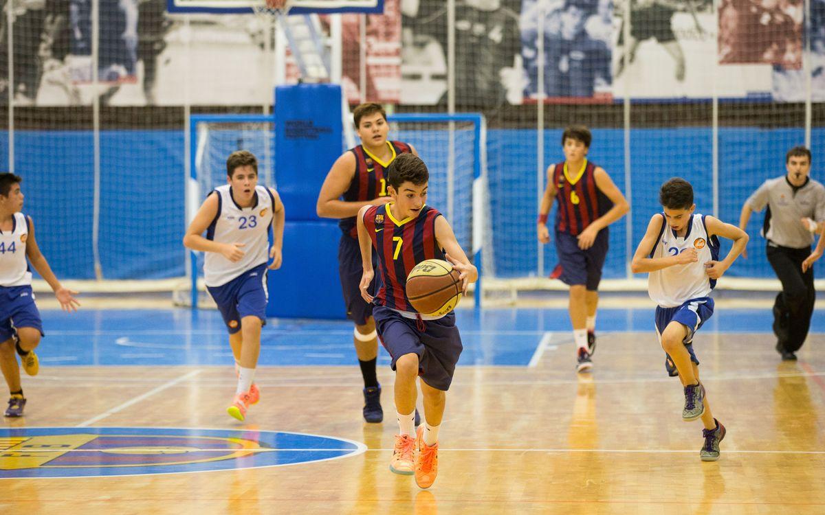 Tots els equips del bàsquet base ja disputen partits de Lliga