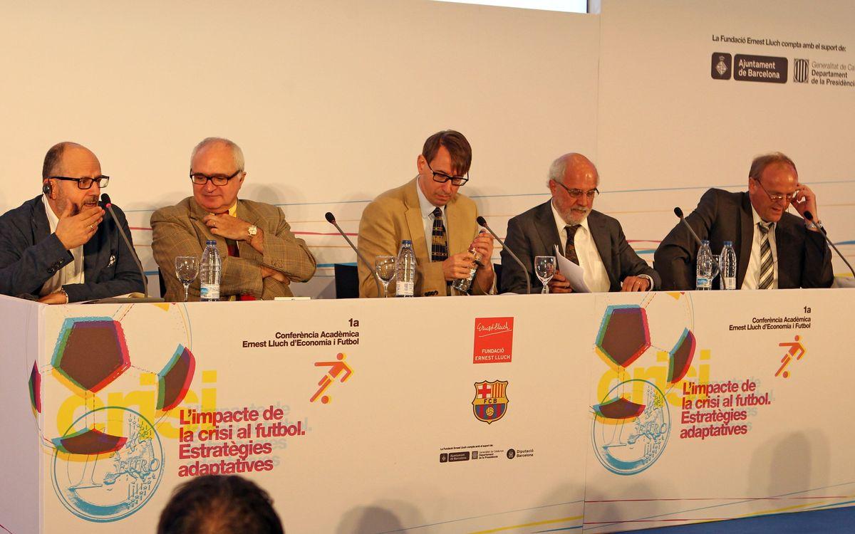 La Fundación Ernest Lluch organiza una nueva jornada dedicada al binomio economía y fútbol
