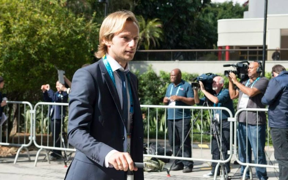 FC Barcelona to present Ivan Rakitic on July 1