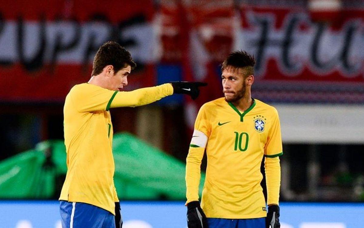 Neymar and Brazil win 2-1 in Vienna