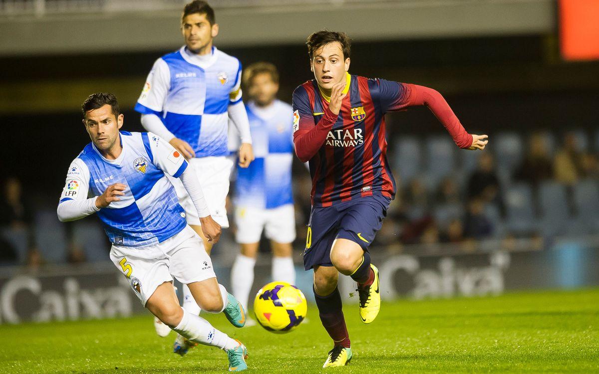 Sabadell-Barça B: El filial busca sumar al millor camp de Segona