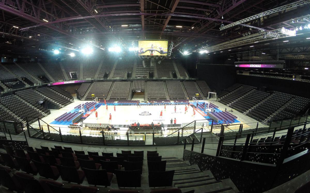 FC Barcelona visit Park & Suites Arena
