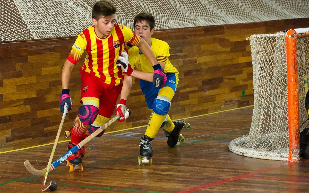 Triomfs del Juvenil i l'Infantil i ensopegades del Barça B i el Sub-23