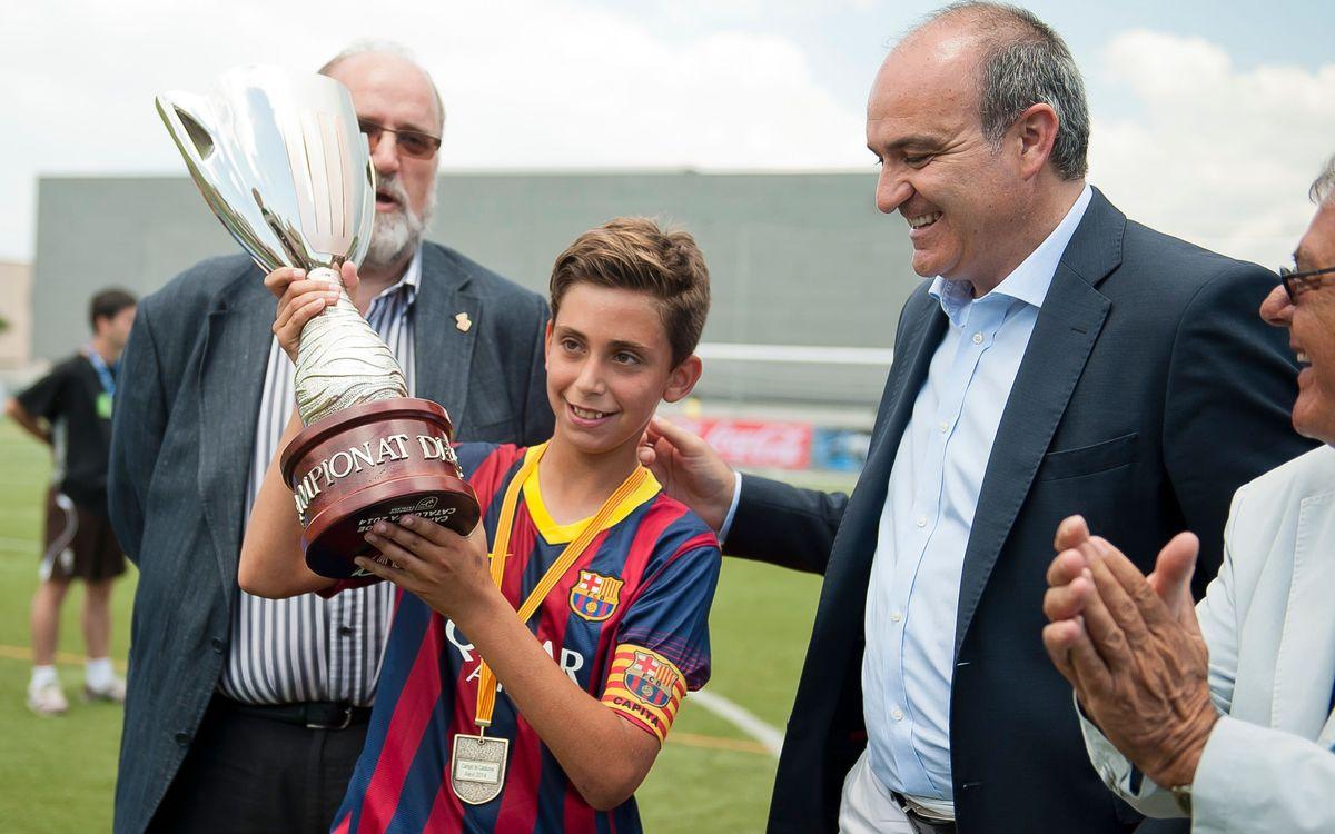 Éxito azulgrana en la Copa Cataluña